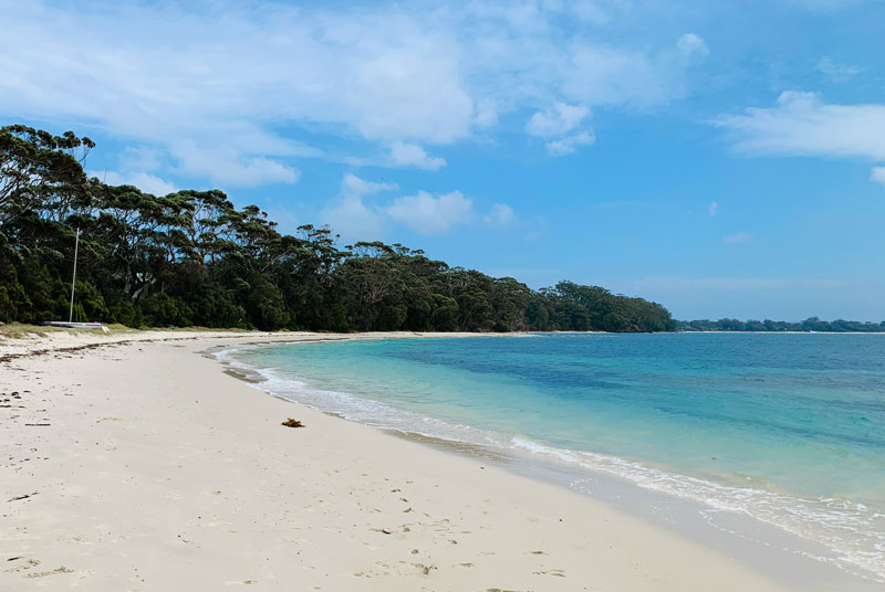 One of the best family beaches in Jervis Bay - Plantation Point